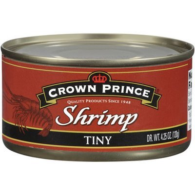 Crown Prince Tiny Shrimp, 4.25 oz