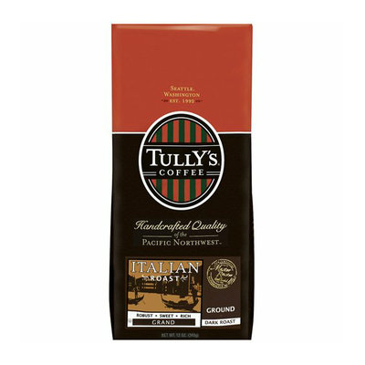 Tully's Coffee Italian Dark Roast Ground Coffee