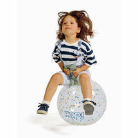 Gymnic 18'' Hop Fantasy Ball in Clear with Stars