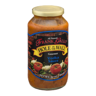 Frank Gallo Hole in the Wall Gourmet Vodka Sauce