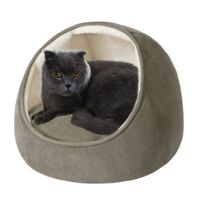 JLA Pets Hooded Snuggler Cat Bed
