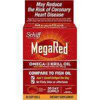 MegaRed Omega-3 Krill Oil Softgels