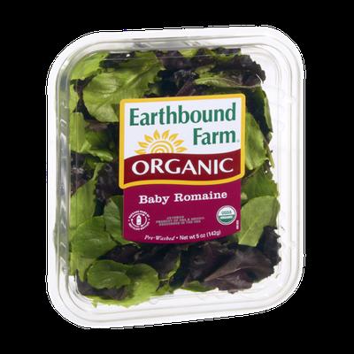 Earthbound Farm Organic Baby Romaine Salad