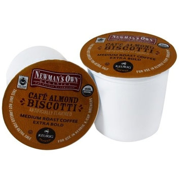 Newman's Own man's Own Organics Cafe Almond Biscotti Coffee Keurig K-Cups, 18 Count