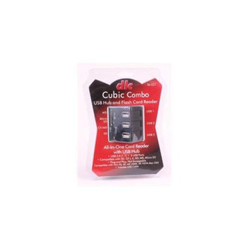 Dot Line Corp DL-CC1 Cubic Combo Card Reader and USB Hub