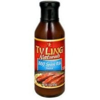 Ty Ling Barbeque Spare Rib Sauce, 15-Ounce Glass (Pack of 6)