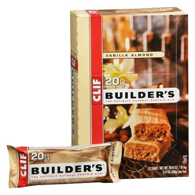 Clif Builder's Natural Protein Bars