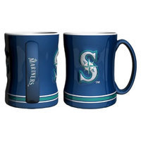 Boelter Brands MLB Mariners Set of 2 Relief Coffee Mug - 14oz