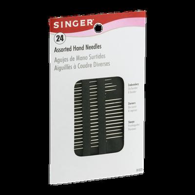 Singer Assorted Hand Needles - 24 CT