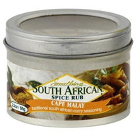 Something South Africa Cape Malay Curry Rub, 2.3 Ounce -- 8 per case.