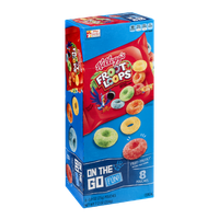 Kellogg's On the Go Fun! Froot Loops Pouches - 8 CT