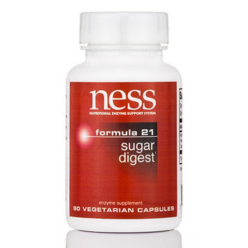 Ness Enzyme's Sugar Digest #21 90 vcaps by Ness Enzymes