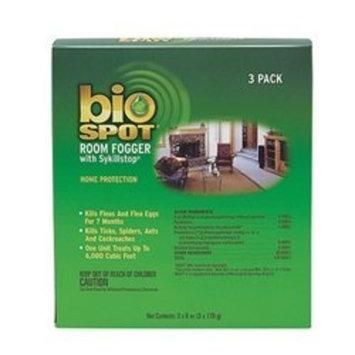 Bio Spot Room Fogger with Sykillstop Reinfestation Preventor, 3-Ounce, 3 Per Package