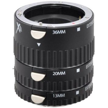 Xit XTETS Pro Series Auto Focus Macro Extension Tube Set for Sony SLR Cameras (B