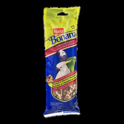 Hartz Bonanza Parrot Treat Sticks Peanut Butter Flavor - 4 CT