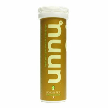 Nuun Hydration Tablets and Water Bottle Lemon Tea Case of 8 20 oz
