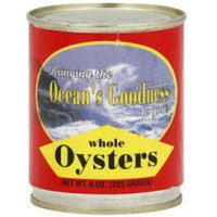 Ocean's Goodness Whole Oysters (Case of 24)