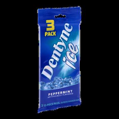Dentyne Ice Peppermint Sugarless Gum