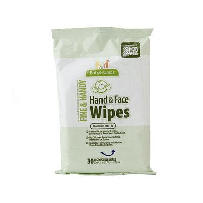 BabyGanics Hand & Face Wipes