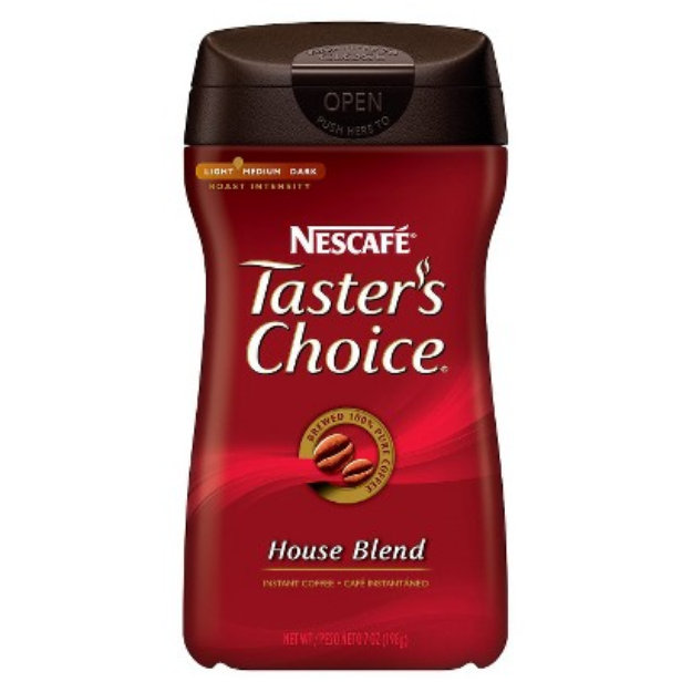 Nescafe Taster's Choice Gourmet Instant Coffee, Original, 7 oz