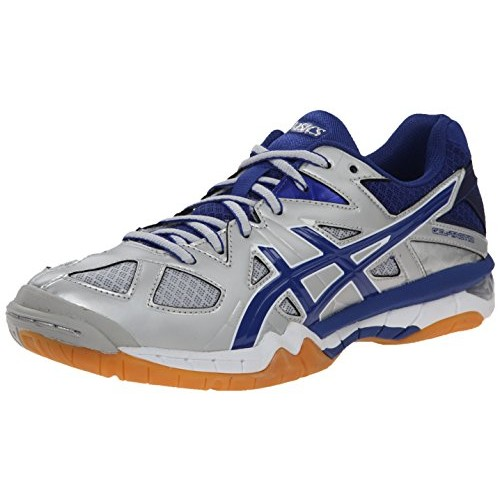 ASICS Women's Gel Tactic Volleyball Shoe [Powder Blue/White/Indigo Blue, 7.5 B(M) US]