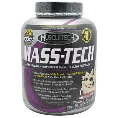 Muscletech Mass-Tech Powder, Cookies & Cream, 5 Pounds