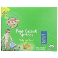 Earth's Best 3rd Foods Purees - Pear Carrot Apricot - 4.2 oz - 6 pk