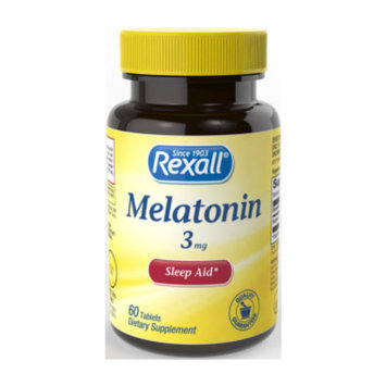 Rexall Melatonin 3 mg - Tablets, 60 ct