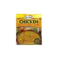 Grace Caribbean Trasition Grace Caribbean, Soup Mix Chckn Ndl, 2.1 OZ (Pack of 12)