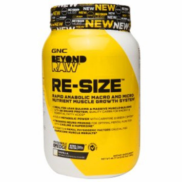 Raw Hardcore GNC Beyond RAW(r) RE-SIZE(tm) - Vanilla