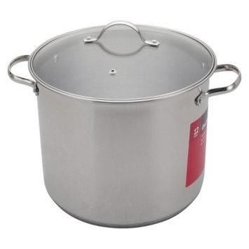 Chefmate CHEFMATE Silver 12QT S/S Stock Pot