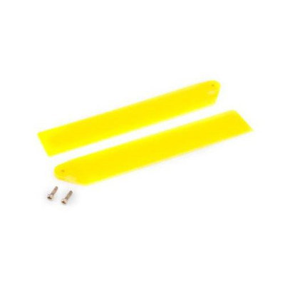 Hi-Performance Main Rotor Blade Set Yellow: mCP X