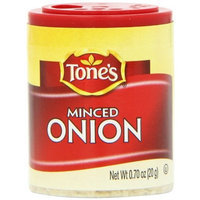 Tone's Mini's Onion, Instant Minced, 0.70 Ounce (Pack of 6)