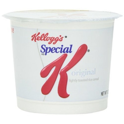 Kellogg's Special K, Toasted Rice Cereal,1.25 Oz Containers, (Pack of 6)