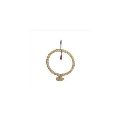 A & E Cage Co A & E Cage HB561 Large Sisal Rope Swing