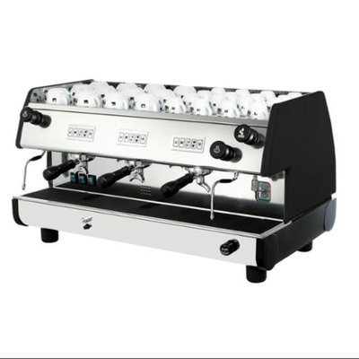 La Pavoni 22L Commercial Volumetric Espresso Machine (Red)