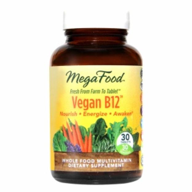 MegaFood Vegan Vitamin B12 Whole Food