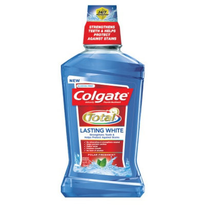 Colgate Total Lasting White Mouthwash Polar Fresh Mint