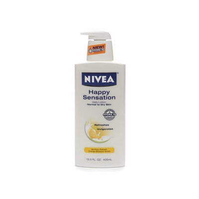 Nivea Body Happy Sensation Daily Body Lotion for Dry to Normal Skin