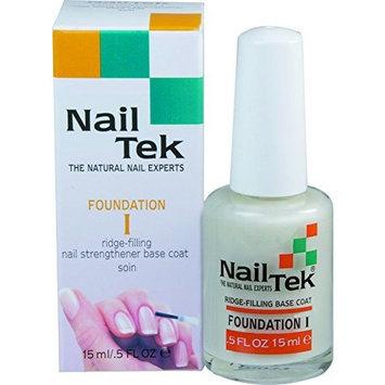 Nail Tek Nailtek Foundation No.1 Ridge-Filling Nail Strengthener Base Coat, 0.5 Fluid Ounce
