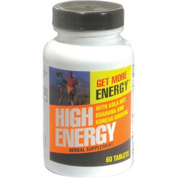 Weider Global Nutrition High Energy Tablets, 60 each