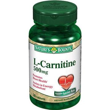 Nature's Bounty L-Carnitine 500mg