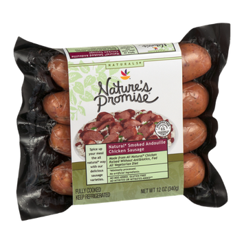 Nature's Promise Natural Smoked Andouille Chicken Sausage
