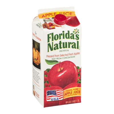 Florida's Natural 100% Pure Apple Juice