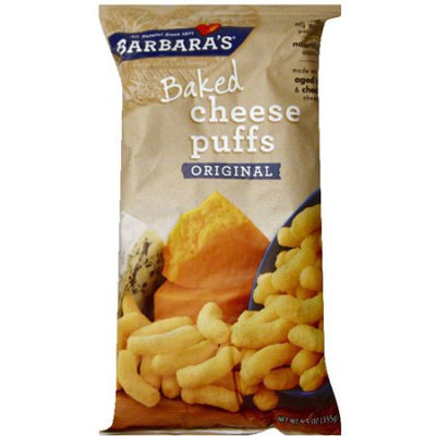 Barbaras Barbara's Baked Original Cheese Puffs, 5.5 oz (Pack of 12)