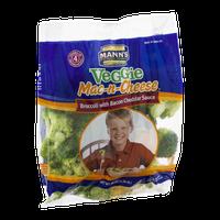 Mann's Veggie Mac-n-Cheese Broccoli with Bacon Cheddar Sauce