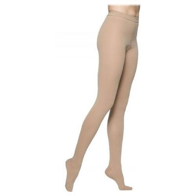 Sigvaris Access 972PLLO66 20-30 mmHg Open Toe Pantyhose Crispa Large-Long