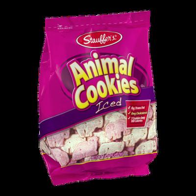 Stauffer's Animal Cookies Iced