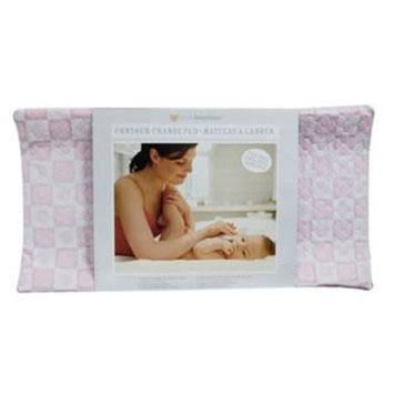 Piccolo Bambino Quilted Contour Changing Pad, Pink