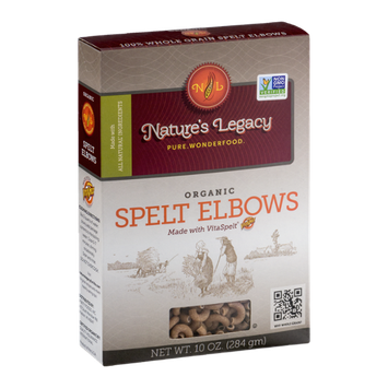 Nature's Legacy Organic Spelt Elbows